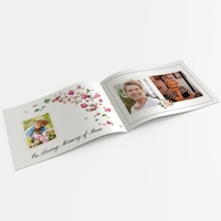 Picture of Pink Roses – A5 Softback Memory Book