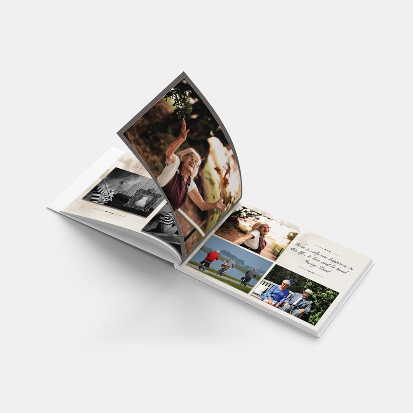 Picture of Lilies – A4 Hardback Memory Book